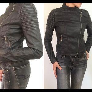 5/48 Sak's Fifth Avenue Moto Jacket
